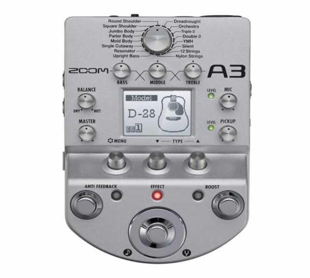 Продам Музыкальный процессор Zoom A3 для эл.аку