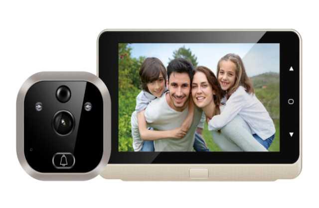Продам: Видеоглазок для входной двери doorbell-p
