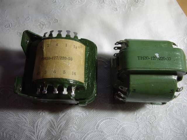 Продам: Трансформатор накальный 2 штуки ТН30-12