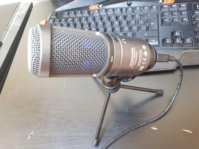 Продам: Микрофон AT2020 USB