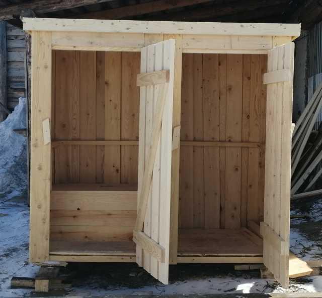 Продам: Туалетная кабинка с хозблоком