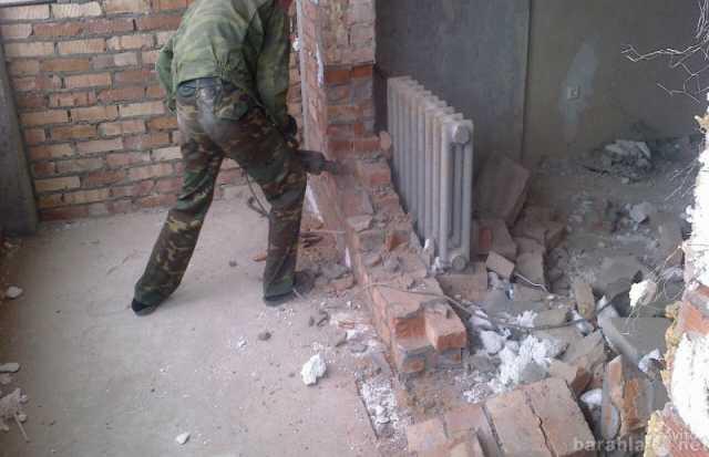 Предложение: Демонтаж снос зданий строений утилизация