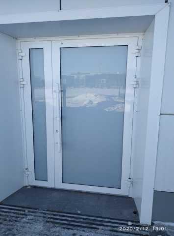 Продам: Дверь двустворчатая из тепло алюминия