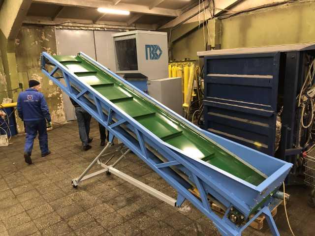 Продам: Ленточные транспортеры для сырья