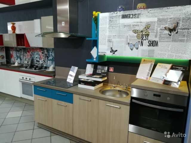 Продам: Кухня с фото-фасадами из пластика 240 см