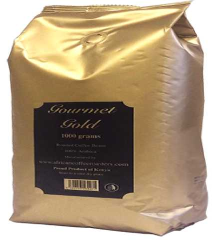 Продам: Зерновой кофе Gourmet Gold Kenya