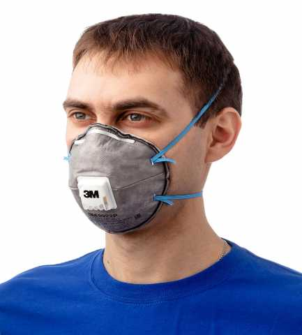 Продам Респиратор маска 3м 9922 ffp2 угольная