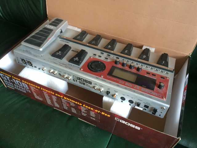 Продам GT-10B: Процессор эффектов для бас-гитар