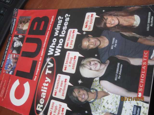 Продам: Английские журналы { Club } для молодё