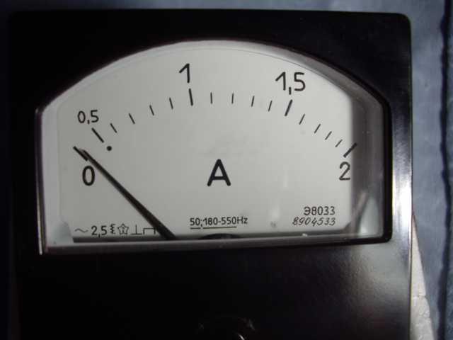 Продам: Амперметр Э8033 для радиолюбителей