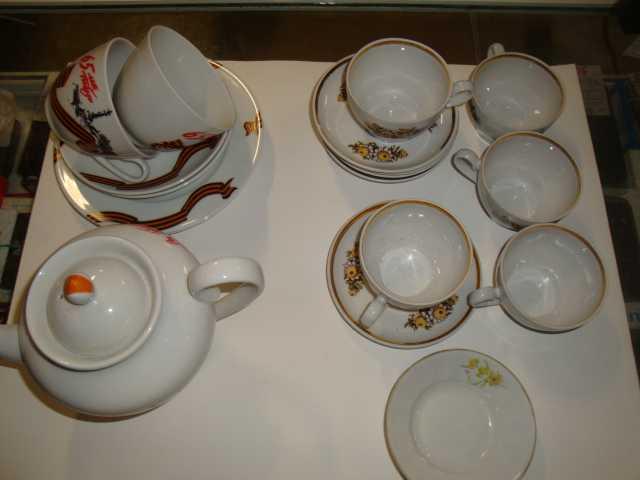 Продам: Чайный набор новый/комплект не комплект