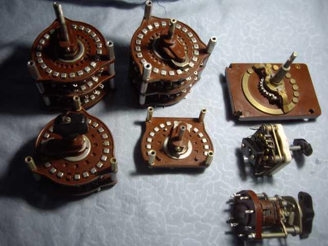 Продам: Переключатели щеточные 7 штук