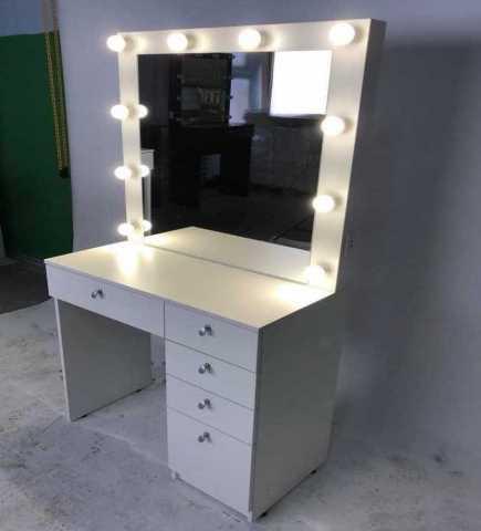 Продам: Гримерный столик с зеркалом и подсветкой