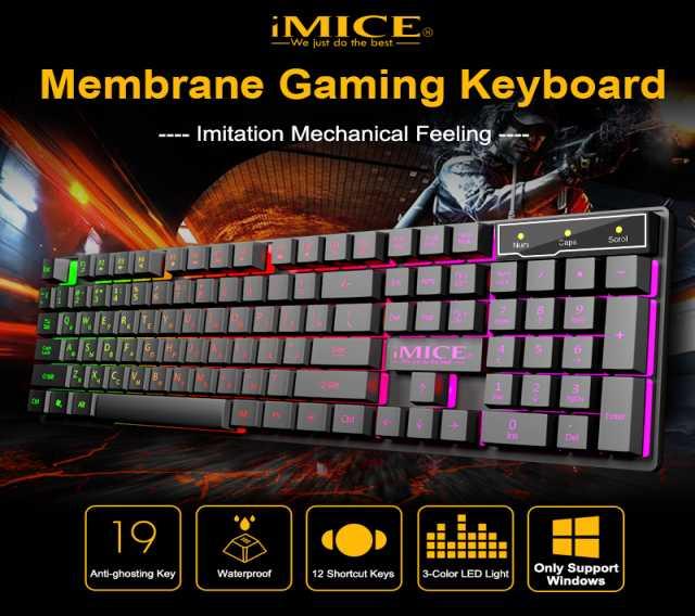 Продам: Клавиатура игровая iMICE АK-600 с подсве