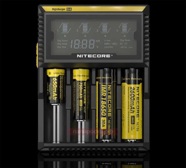 Продам: Зарядное устройство Nitecore D4