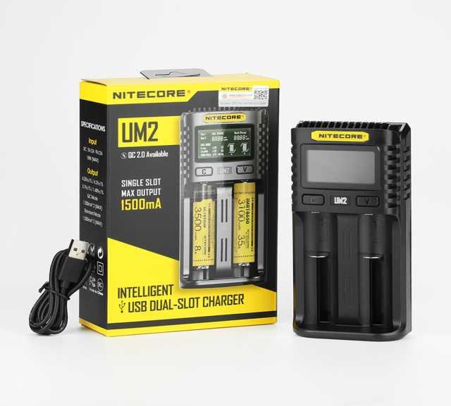 Продам: Зарядное устройство Nitecore UM2