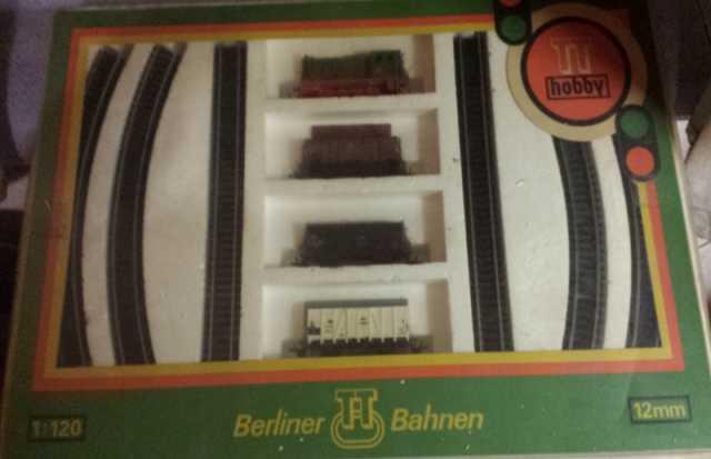 Продам: Железная дорога гдр berliner bahnen 12mm