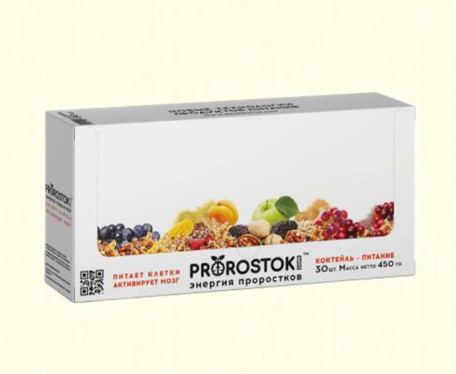 Продам: Коктейли - питание Prorostok - энергия п