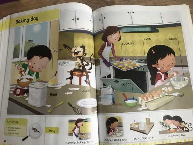 Продам: Словарь в картинка для детей , английски