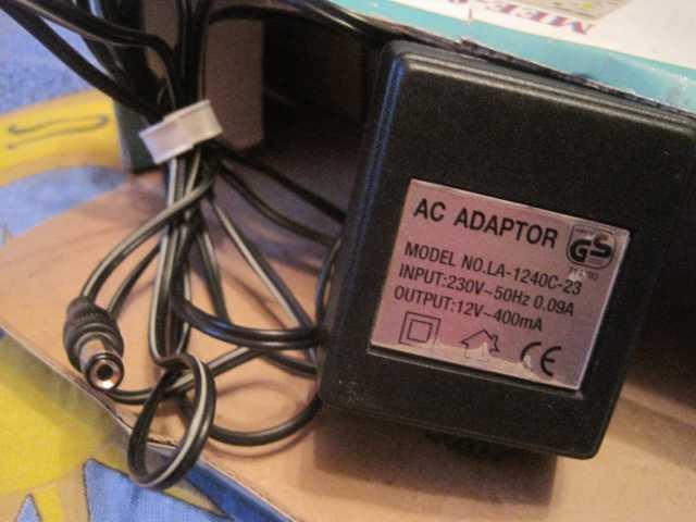 Продам: Адаптер переменного тока AC 12V ~400mA