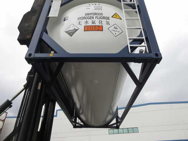 Продам: Танк-контейнер T20 новый 21 м3 для фтори