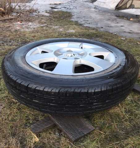 Продам: Шины лето Roadstone 195*65 + диски литые