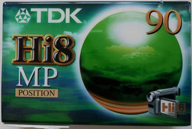 Продам: Видеокассета тdk Hi8