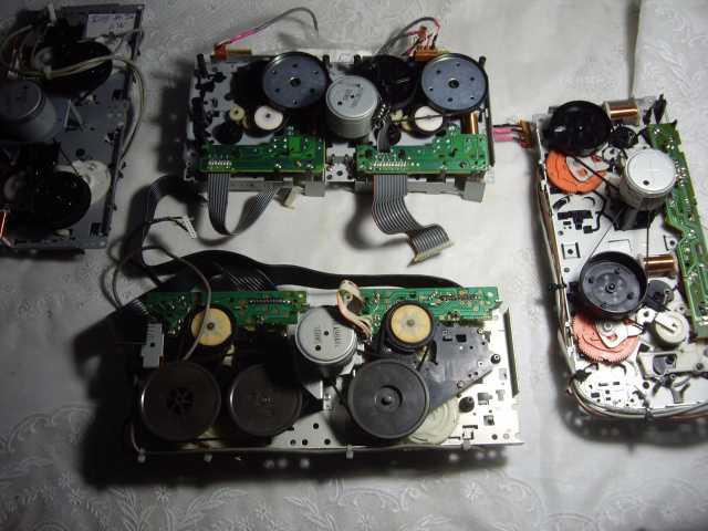 Продам: 4 лентопротяжных механизма Для кассетны