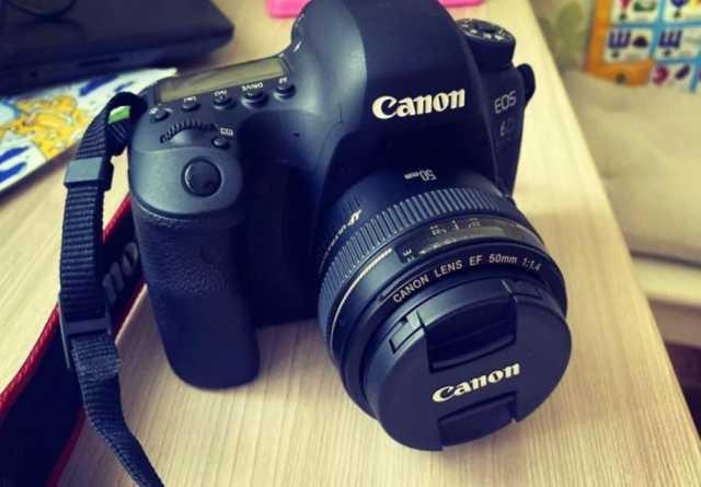 Продам Новый Canon 6D mark II + Canon 50 ef 1.4