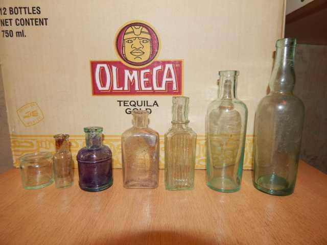 Продам: пузырьки и бутылочки