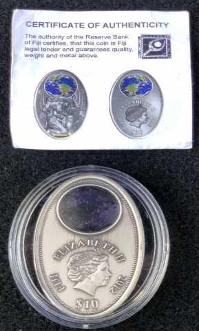 Продам: Монета Атлант, Фиджи 10$, 2012г