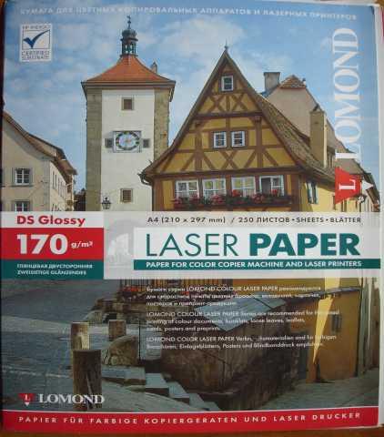 Продам: фотобумага А4, 250 листов, глянц двухст