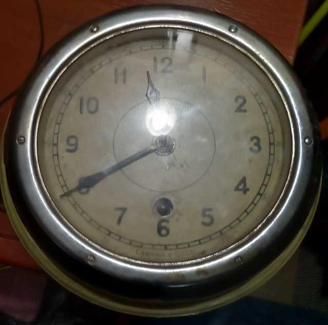 Продам: корабельные Часы