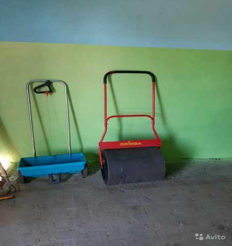 Предложение: Аренда Садового катка и сеялки