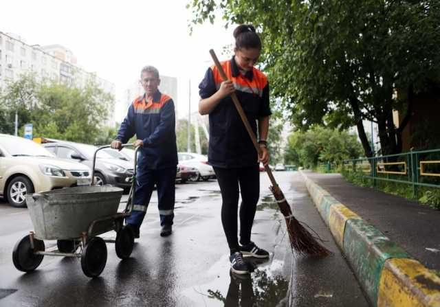 Предложение: Уборка территории, дворники