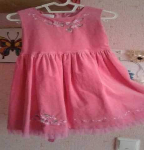 Продам: Теплое платье на девочку