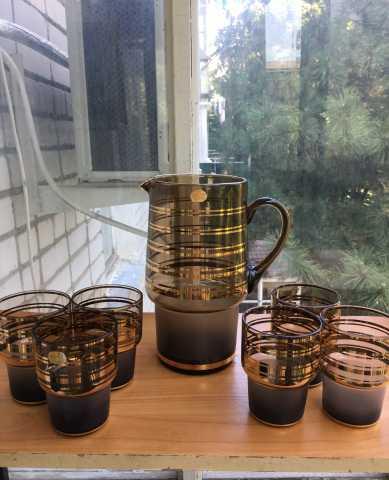 Продам: Кувшин и 6 стаканов Богемия