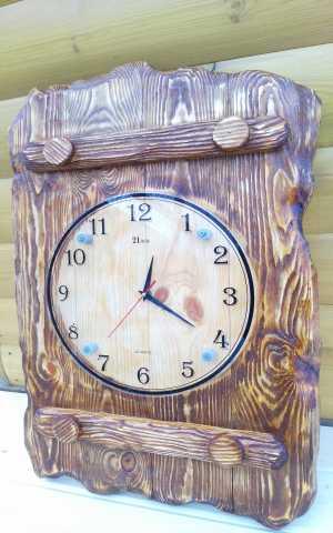 Продам: Часы настенные из массива ручной работы