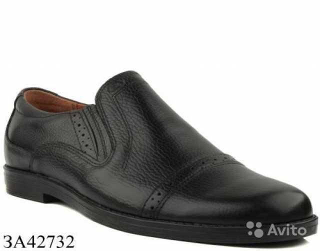 Продам Мужские туфли-лоферы 42 р-р, нат. кожа