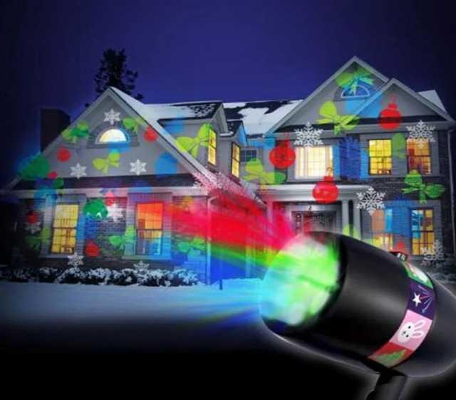 Продам: Лазерный проектор для праздничной иллюми