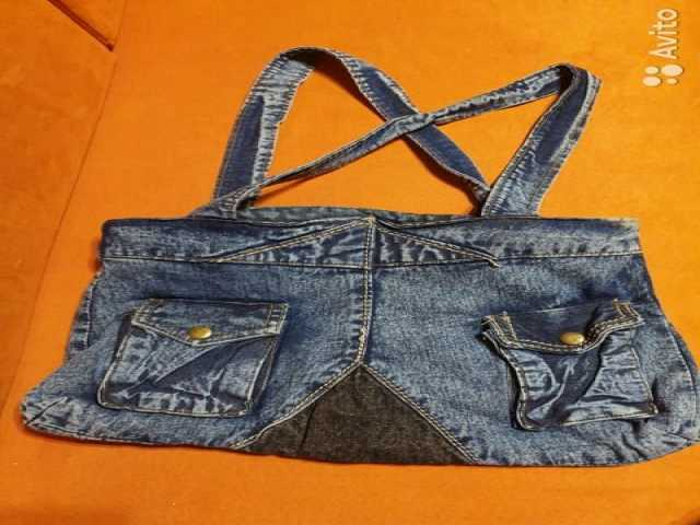 Продам: Сумка джинсовая