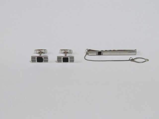 Продам: Запонки и Зажим галстука из Серебра 925