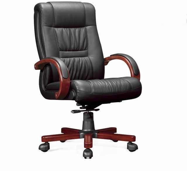 Продам: Офисное кресло из натуральной кожи