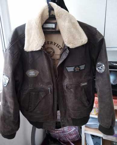 """Продам Куртка """"Pilot"""" из натуральной кожи"""