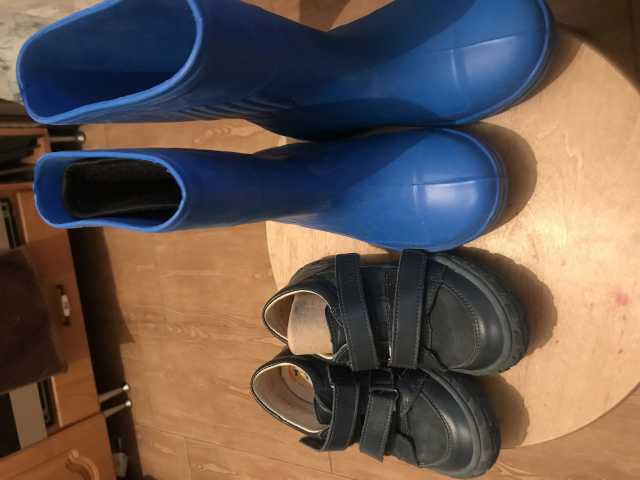 Продам Ботинки с сапожками