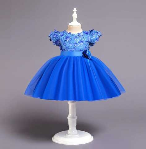 Продам: Новое платье для девочки с пышной юбкой