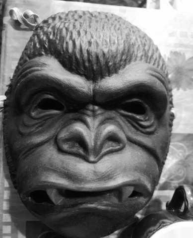 Продам маска обезьяны кинг конг резиновая ссср