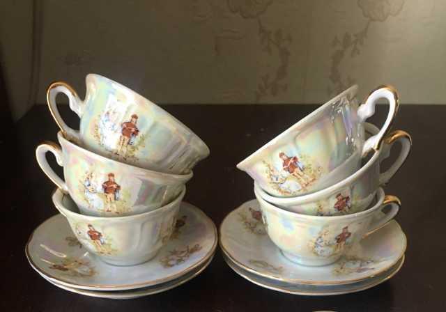 Продам: Чашки кофейные с блюдцами Мадонна .Югосл