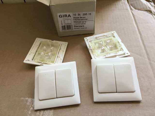 Продам: Электрика GIRA выключатели, розетки