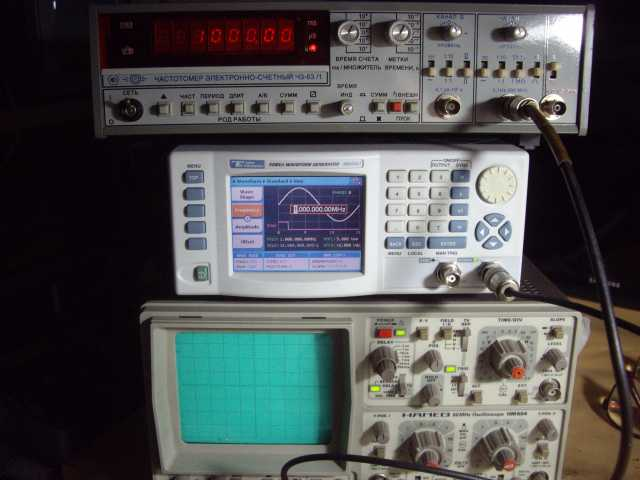 Продам: Частотомер.генератор осциллограф